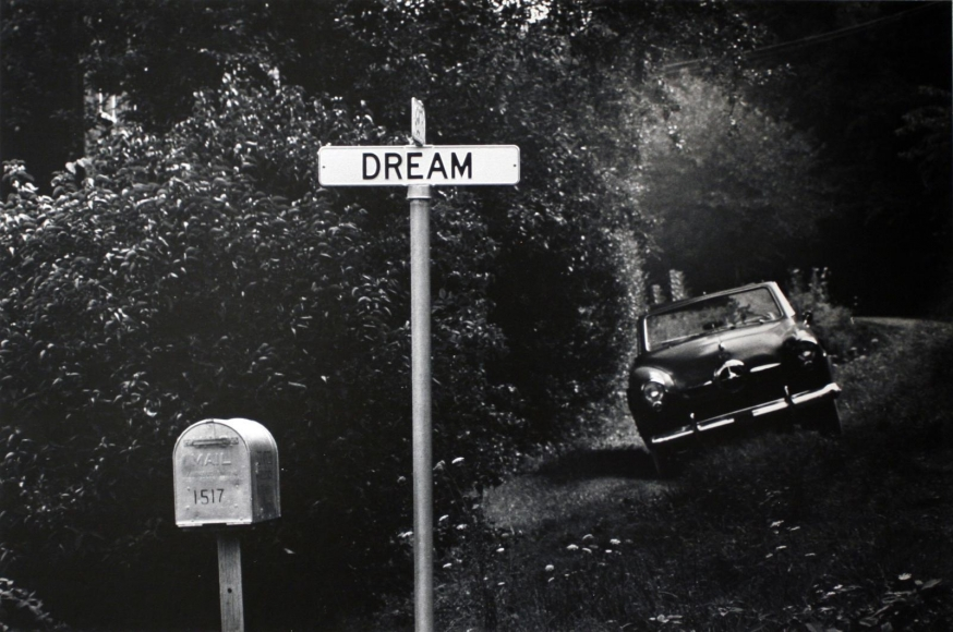 Pittsburgh, Dream Street, 1955-56  	Gelatin silver print, printed c. 1955-56  	20 x 24 inches