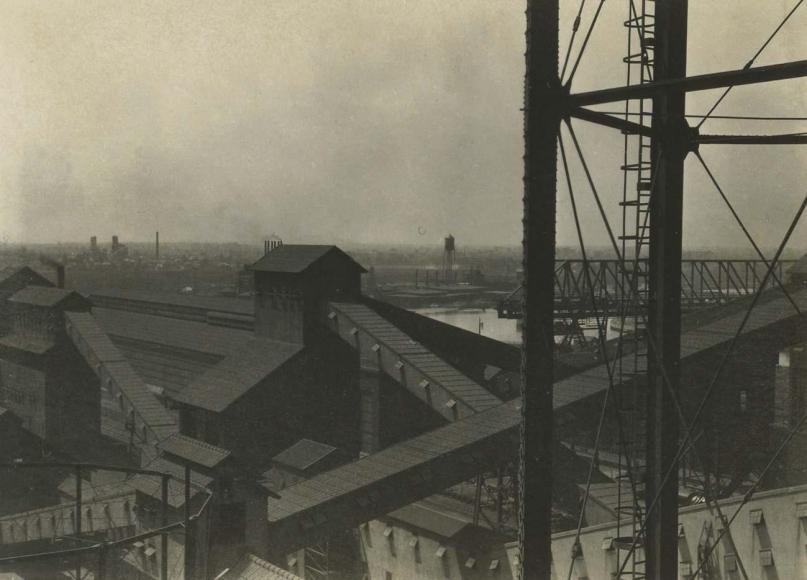 E. O. Hoppé - Ford Factory, Detroit, Michigan, 1926    Bruce Silverstein Gallery