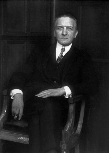 August Sander - The Art Scholar [Wilhelm Schäfer], 1926  | Bruce Silverstein Gallery