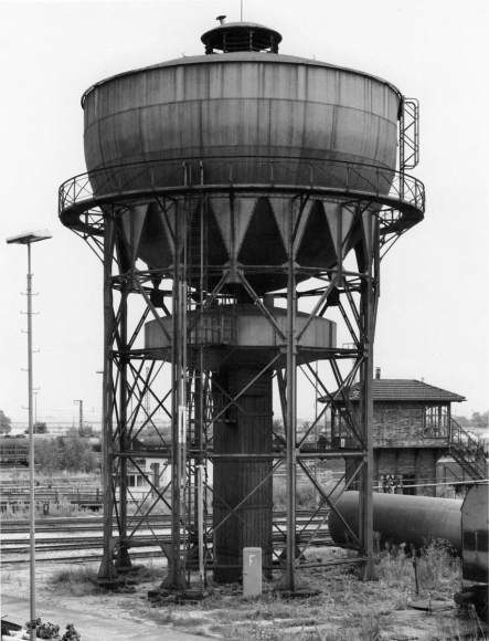 Bernd and Hilla Becher- Water Tower, Mannheim, Germany, 1978  | Bruce Silverstein Gallery