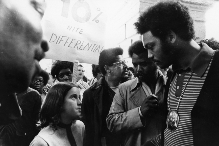 Chester Higgins -  Jesse Jackson at a Justice Rally, California, 1970