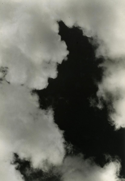 Imogen CunninghamCloud Study, 1939 Gelatin silver print mounted to board, printed c.1939 9 1/4 x 6 1/2 inches