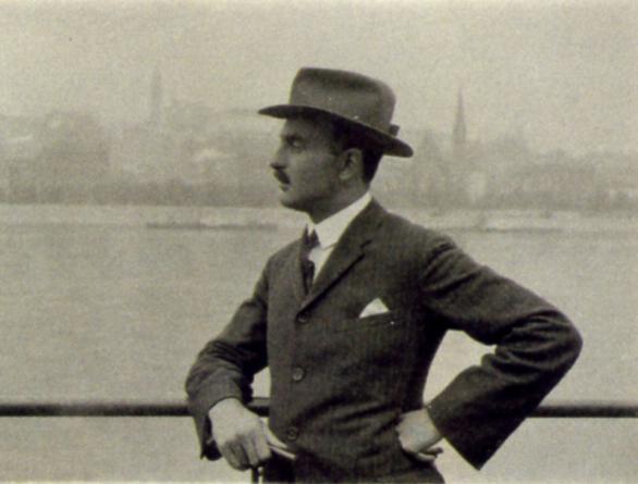 André Kertész - Portrait of Imre Kertész, 1923 ; Bruce Silverstein Gallery