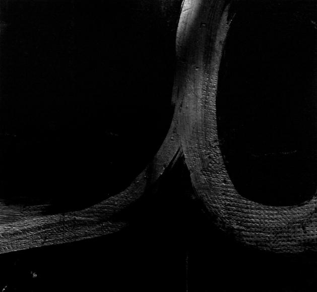 Aaron Siskind Rome 23, Homage to Franz Kline, 1973 Gelatin silver print, printed c.1973 20 x 16 inches