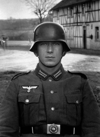August Sander - Soldier, c. 1940  | Bruce Silverstein Gallery