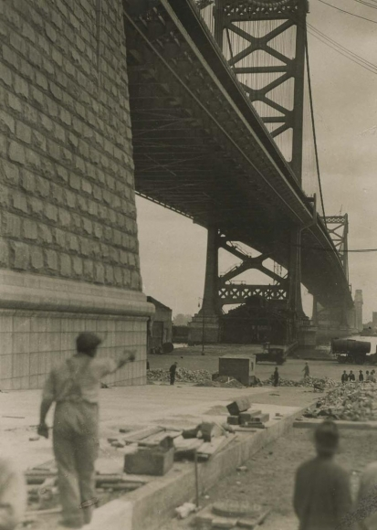 Delaware Bridge, Wilmington, 1926 Gelatin silver print, printed c. 1926 4 1/2 x 3 1/4 inches