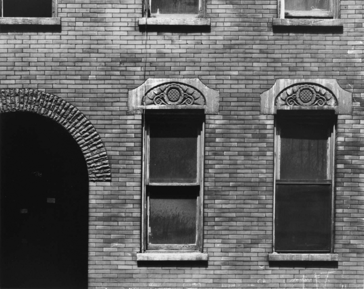 Aaron Siskind Chicago Facade 3, 1957 Gelatin silver print, printed c.1957 8 x 10 inches