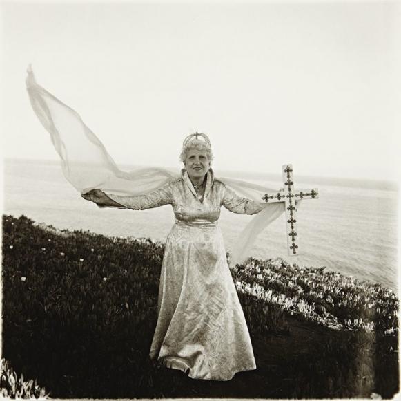 Diane Arbus -  Bishop by the Sea, Santa Barbara, California, 1964  | Bruce Silverstein Gallery
