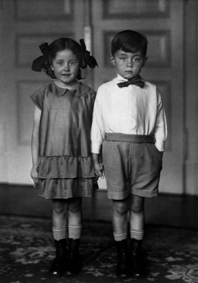 August Sander - Middle-Class Children, 1925  | Bruce Silverstein Gallery