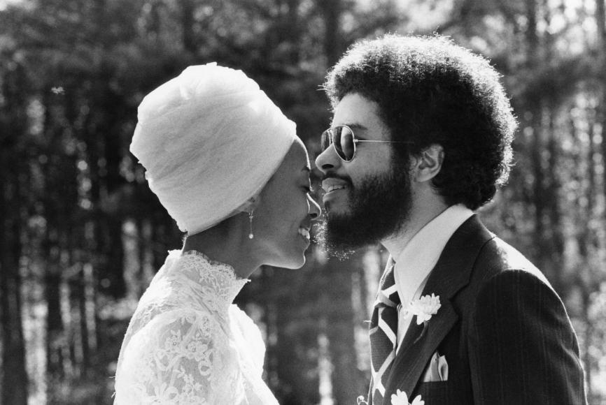 Chester Higgins -  Harold McDugall and Gay Elaine Johnson Wedding, Atlanta, Georgia, 1971