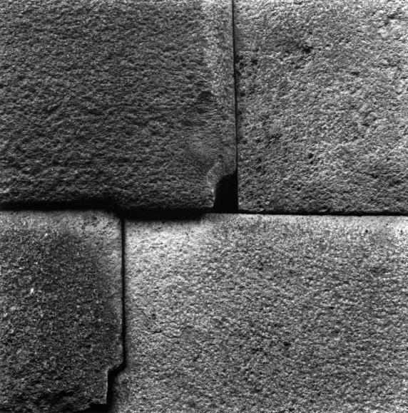 Aaron Siskind Cusco Wall 57, 1975 Gelatin silver print, printed c.1975 8 x 10 inches