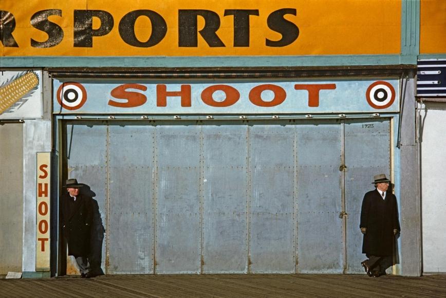 Marvin Newman -  Coney Island II, 1953  | Bruce Silverstein Gallery