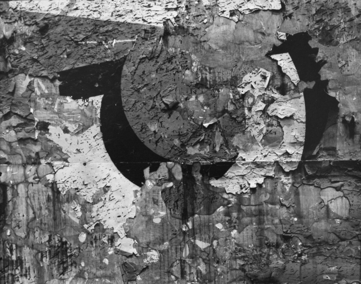 Aaron Siskind Chicago 25, 1957 Gelatin silver print, printed c. 1957. 8 x 10 inches