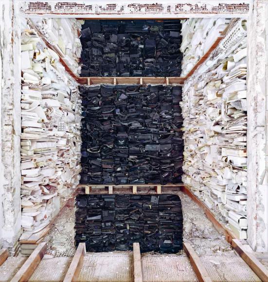 Marjan Teeuwen- Destroyed House, 2007 | Bruce Silverstein Gallery