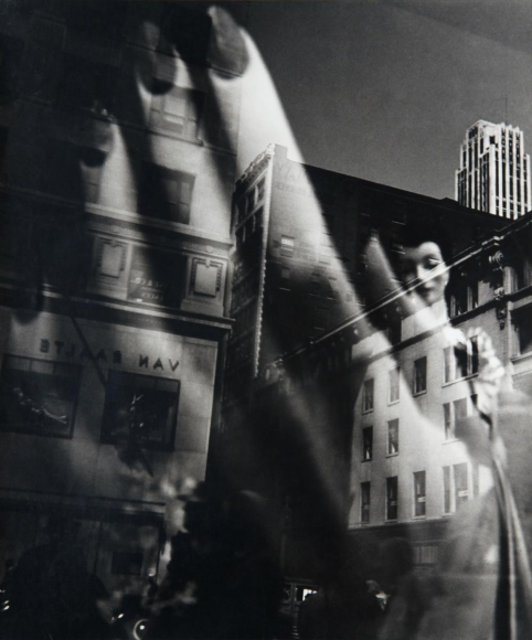 Lisette Model -  Reflection, New York, 1939-1945  | Bruce Silverstein Gallery