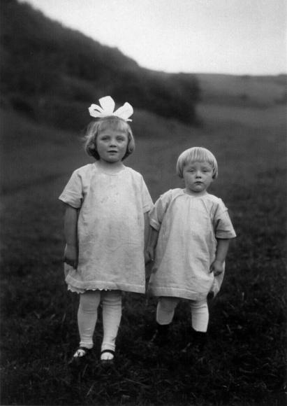 August Sander - Farm Children, c. 1928  | Bruce Silverstein Gallery