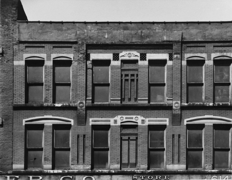 Aaron Siskind Chicago Facade 8, 1957 Gelatin silver print, printed c.1957 8 x 10 inches