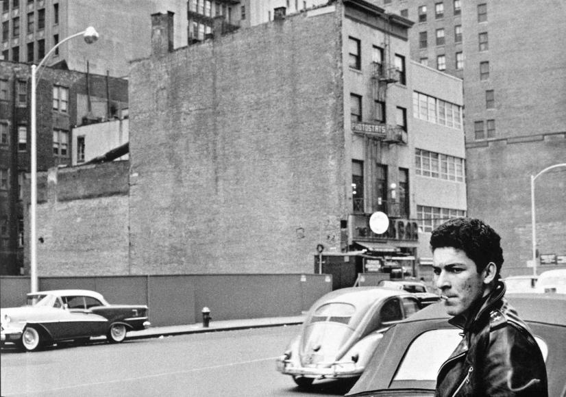 Frank Paulin - West Side Story, New York, 1956 Gelatin silver print   Bruce Silverstein Gallery
