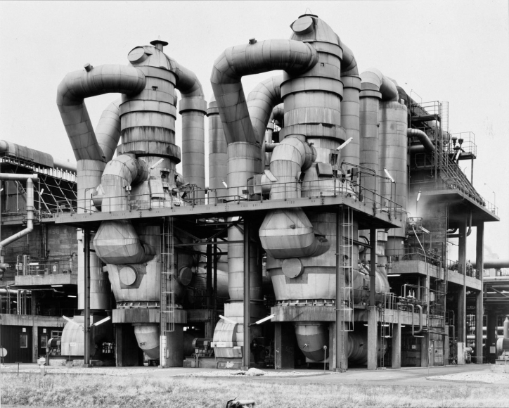 Bernd and Hilla Becher - Plant for Styrofoam Production, Wesseling near Cologne, Germany,1997  | Bruce Silverstein Gallery