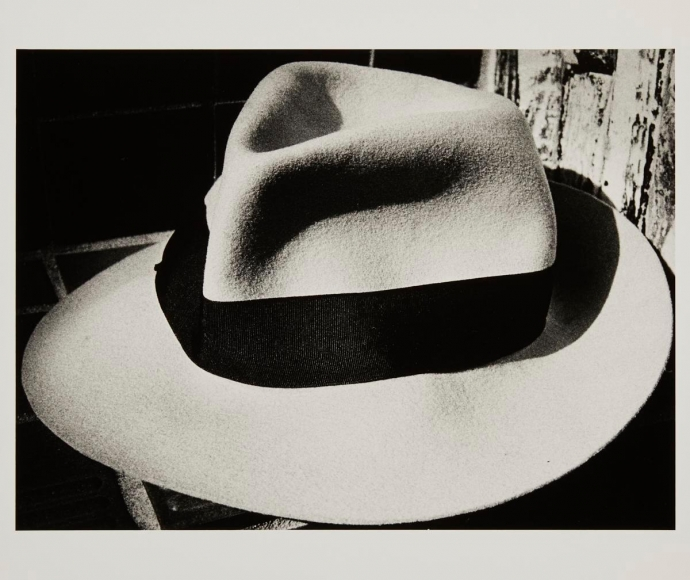 Light and Shadow #4, (Hat), 1982, Gelatin silver print