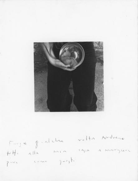 Francesca Woodman - Antella, 1977 Gelatin silver print | Bruce Silverstein Gallery