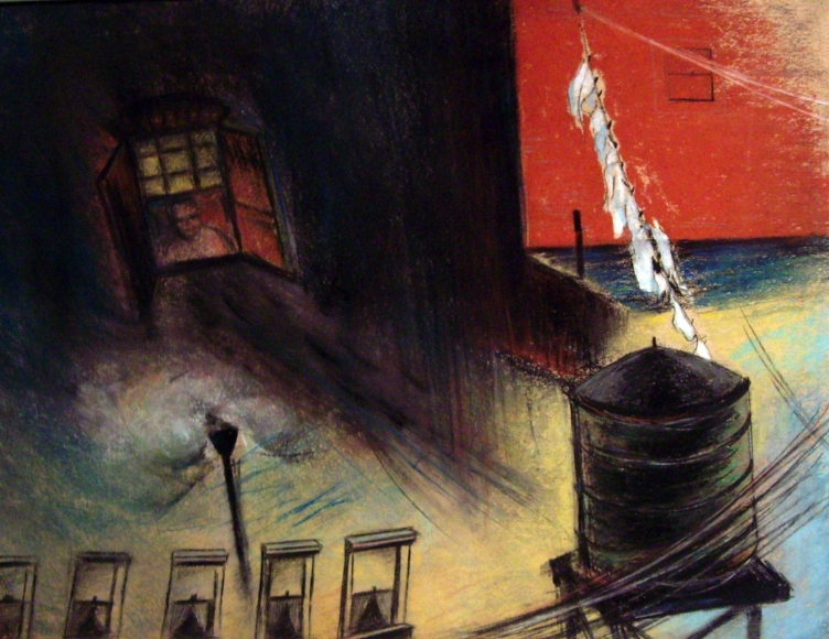 Barbara Morgan - Untitled, 1932 Pastel on paper | Bruce Silverstein Gallery