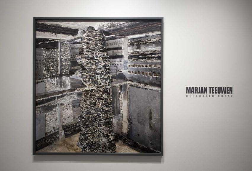 Marjan Teeuwen- Destroyed House Gaza 9, 2017 | Bruce Silverstein Gallery