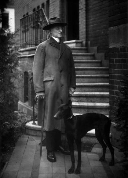 August Sander - The Notary, 1924  | Bruce Silverstein Gallery