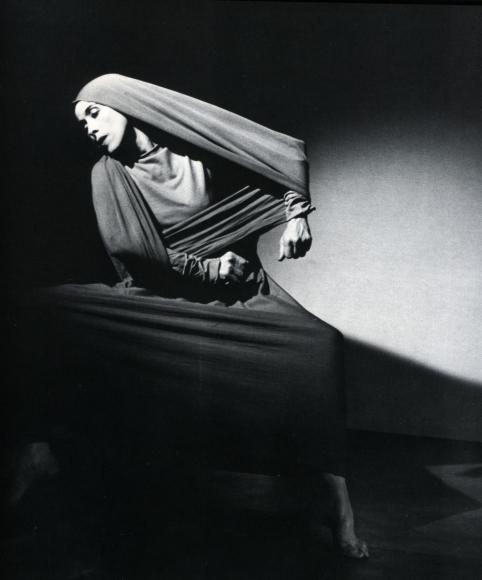 Barbara Morgan - Martha Graham, Lamentation (Oblique), 1930 Gelatin silver print, printed c. 1930 | Bruce Silverstein Gallery