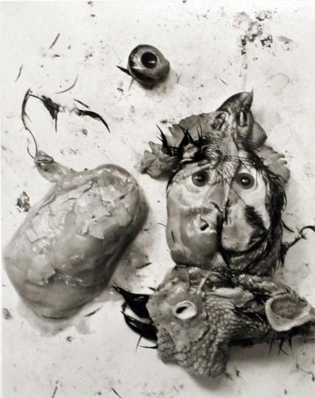 Frederick Sommer - Chicken Parts, 1939 Gelatin silver print mounted to board, printed c. 1990s   Bruce Silverstein Gallery