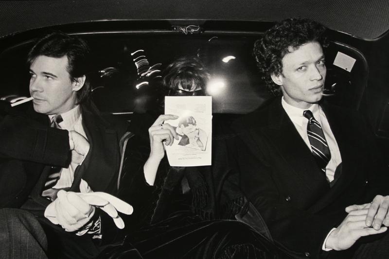 Ryan Weideman - Riding with Dream Lovers in Love, 1983 Gelatin silver print ; Bruce Silverstein Gallery