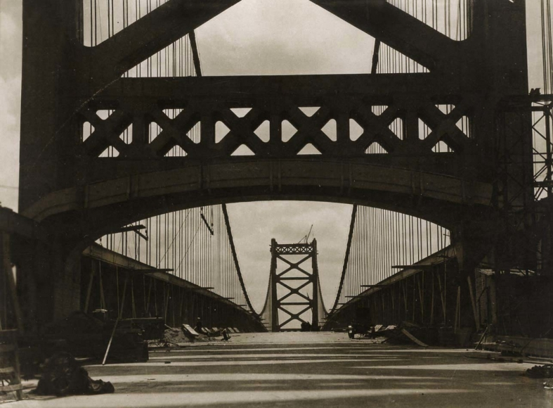 Delaware Bridge, Wilmington, 1926 Gelatin silver print, printed c. 1926 3 1/4 x 4 1/4 inches