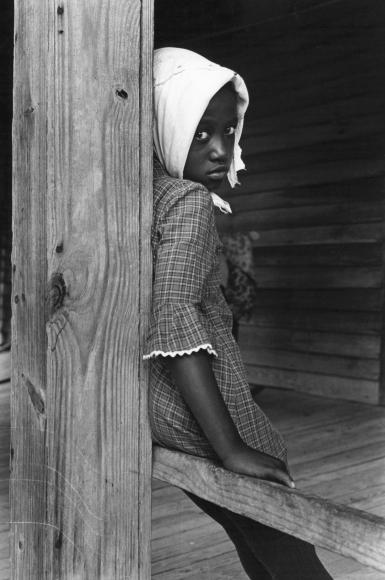 Chester Higgins -  Front Porch, Macon County, Alabama, 1967