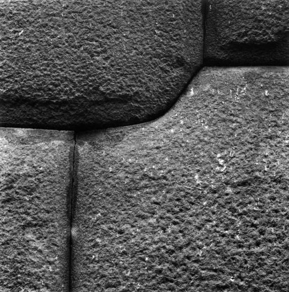 Aaron Siskind Cusco Wall 30, 1975 Gelatin silver print, printed c.1975 8 x 10 inches