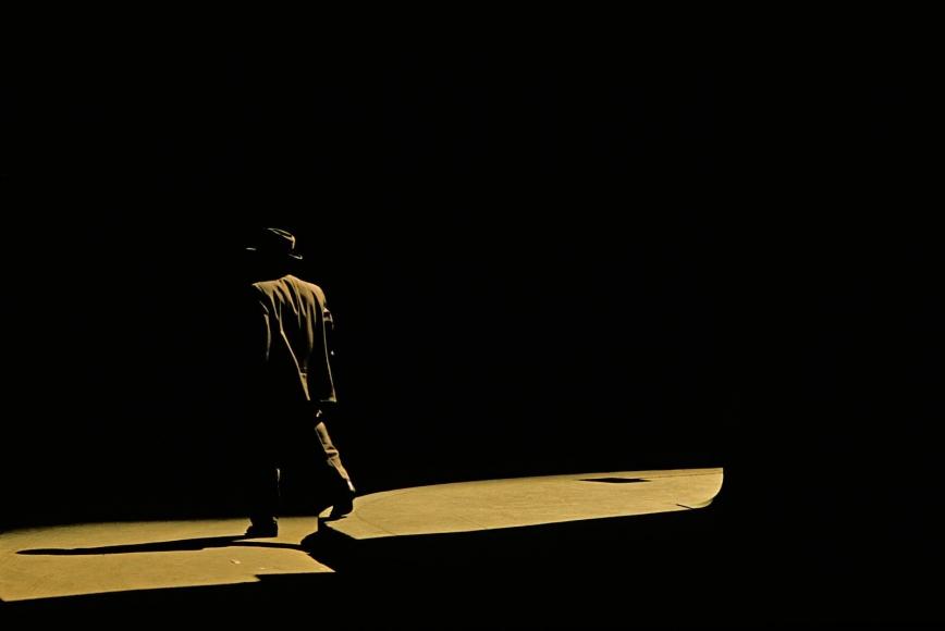 Marvin Newman -  Wall Street II, 1956  | Bruce Silverstein Gallery