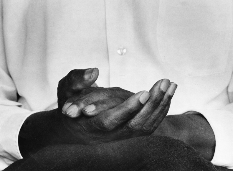 Chester Higgins -  Hands of Contentment, Tuskegee, Alabama, 1973