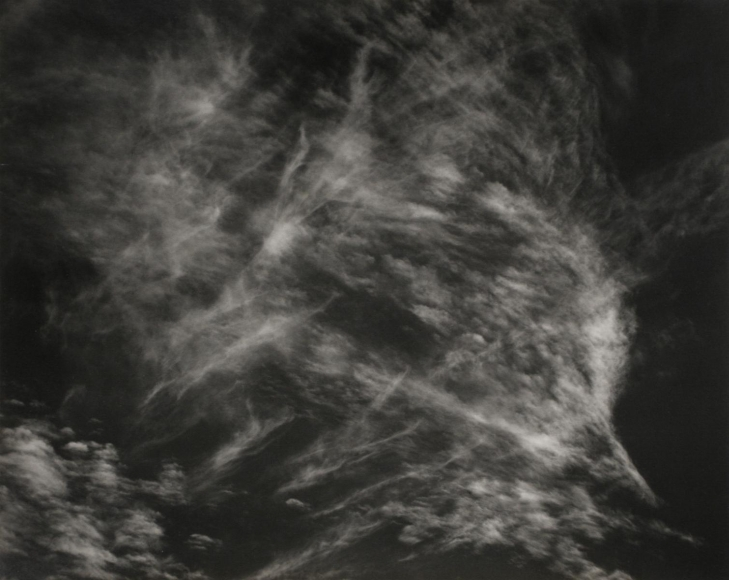 Edward Weston Clouds, Death Valley, 1938 Gelatin silver print, printed c.1938 7 5/8 x 9 1/2 inches