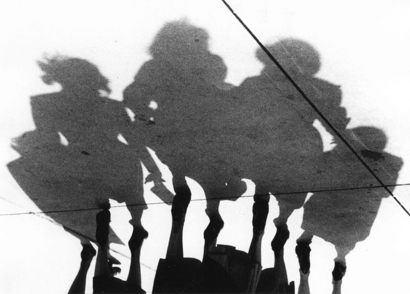 Marvin E. Newman - Untitled (Shadows), 1951  | Bruce Silverstein Gallery