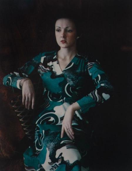 Barbara, 1976 Dye transfer print 8 3/4 x 7 1/8 in.