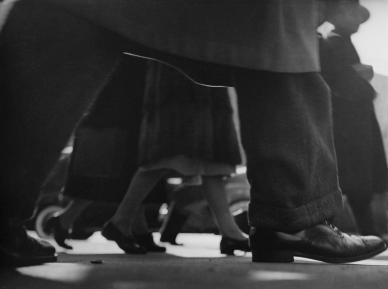 Lisette Model -  Running Legs, Forty-Second Street, New York, 1940-41  | Bruce Silverstein Gallery