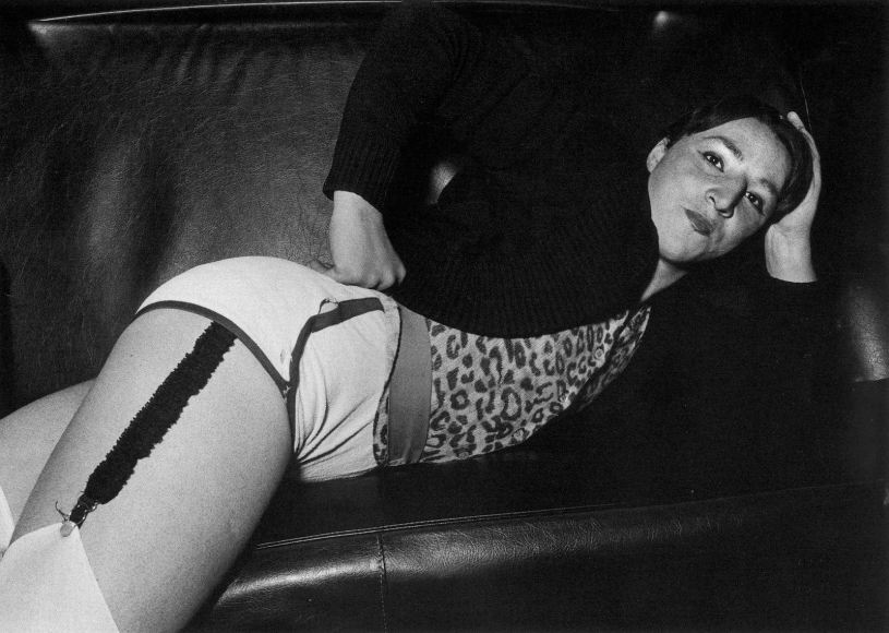 Ryan Weideman- Odalisque In the Back of a Hack, 1982 Gelatin silver print   Bruce Silverstein Gallery