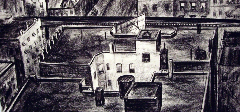 Barbara Morgan - Untitled, c. 1932 Charcoal on paper | Bruce Silverstein Gallery