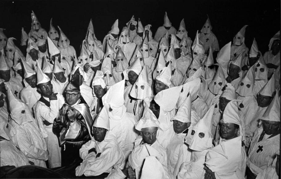 W. Eugene Smith - Ku Klux Klanmen, 1951  | Bruce Silverstein Gallery
