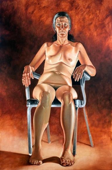 Alfred Leslie - Carolyn Arnold, 1974-1975 ; Bruce Silverstein Gallery