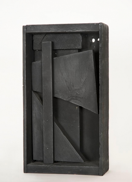 Louise Nevelson- Untitled, 1959 Painted wood  | Bruce Silverstein Gallery