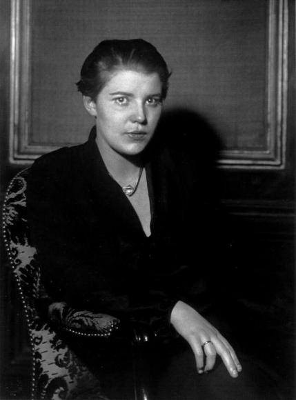 August Sander - Film Actress [Tony van Eyck], 1933  | Bruce Silverstein Gallery