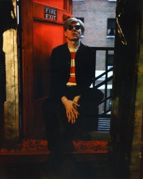 Marie Cosindas -  Andy Warhol, NYC, 1966  | Bruce Silverstein Gallery