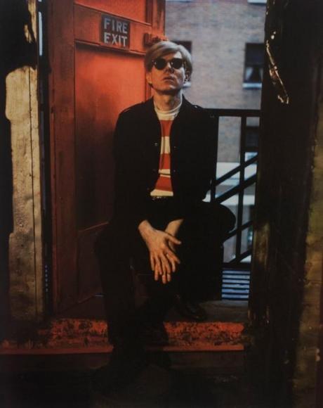 Andy Warhol, NYC, 1966 Dye diffusion transfer print 5 1/2 x 4 1/4 in.