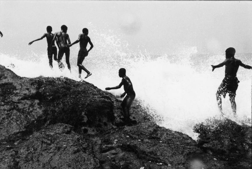 Chester Higgins -  Ocean Spray, Accra, Ghana, 1973