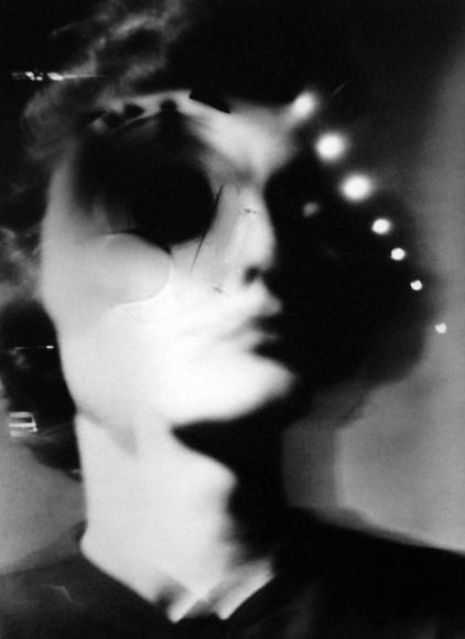 Barbara Morgan - Brainwashed, 1961-69 Photogram mounted to board, printed 1961-69 | Bruce Silverstein Gallery